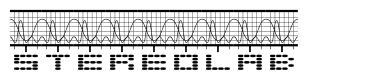 Stereolab font