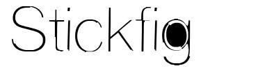Stickfig шрифт