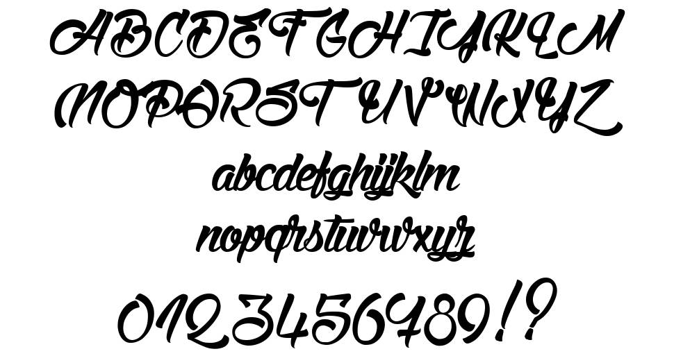 Stink on the Death font