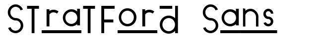 Stratford Sans fuente