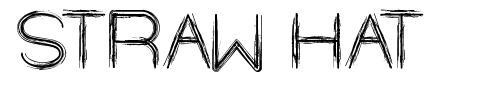 Straw Hat font