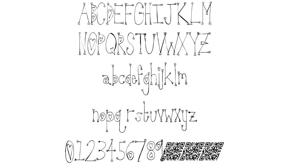 Strawberry Longcake font