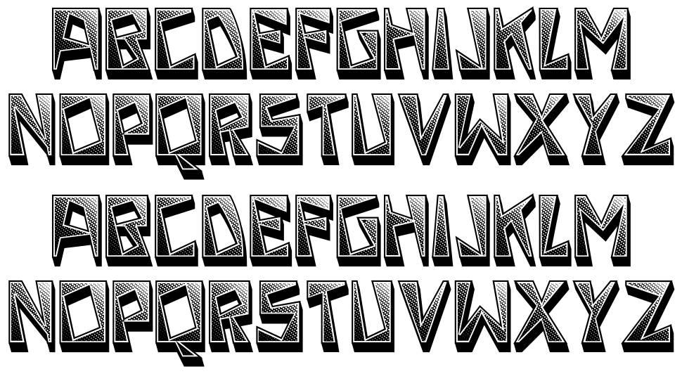 Strike font