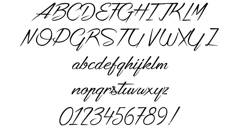 Strike your Path font