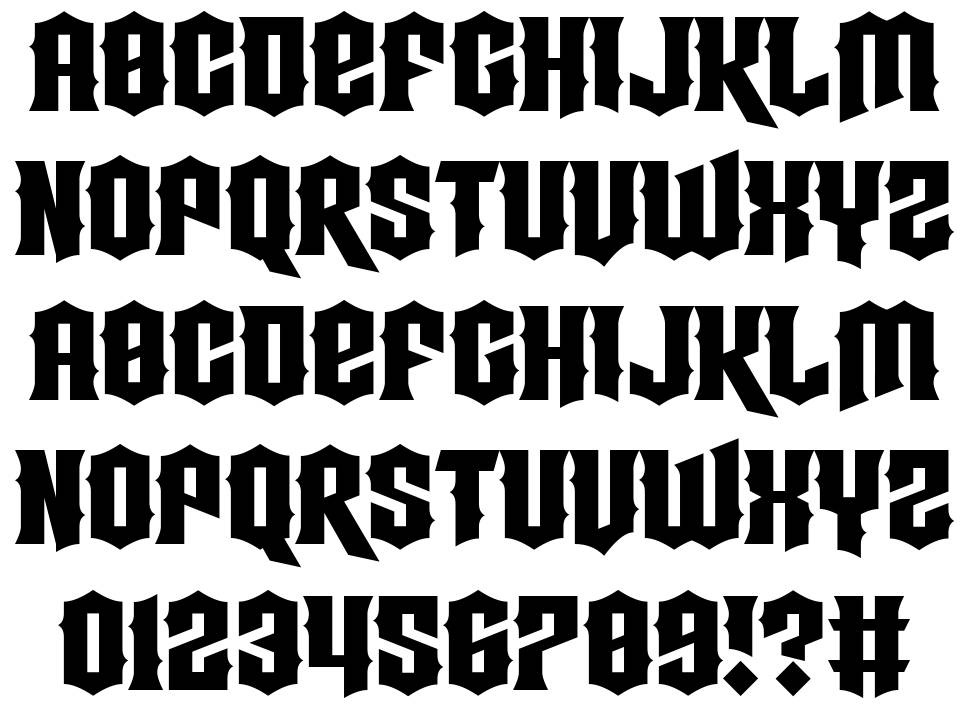 Strings Theory font