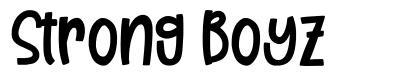 Strong Boyz font