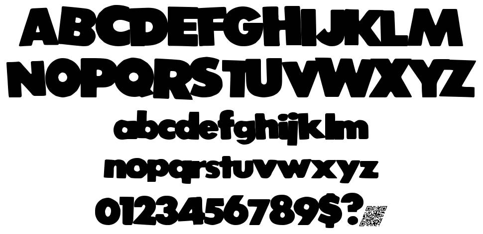 Strong Void  font
