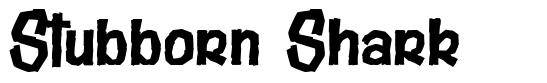 Stubborn Shark font
