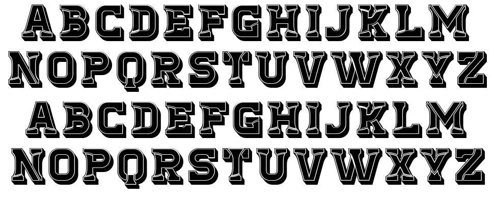 Stumble font