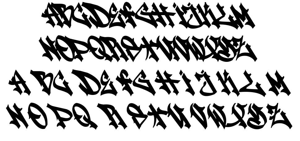 Stylewriting font