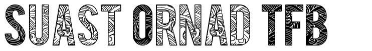 Suast Ornad TFB font