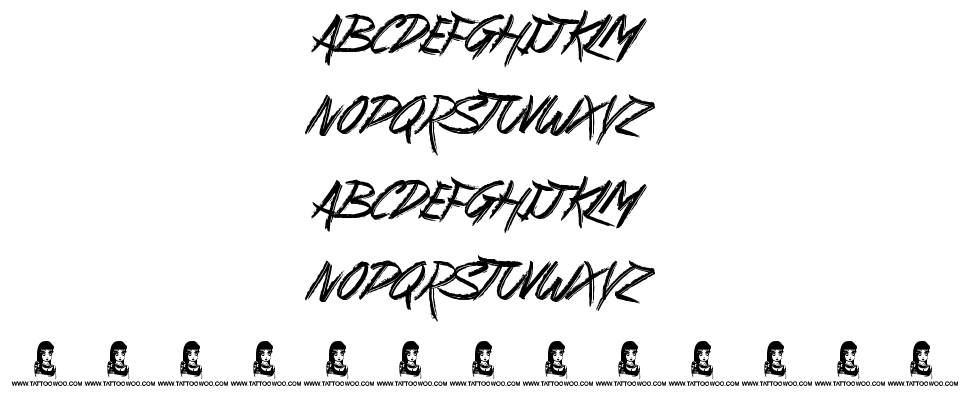 Suburban Legends font