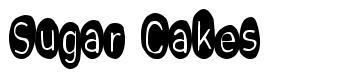 Sugar Cakes font