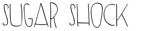 Sugar Shock font