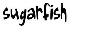 Sugarfish czcionkę