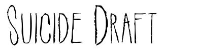 Suicide Draft
