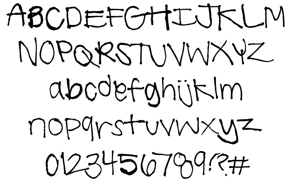 Summer Handwriting font