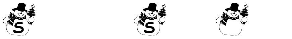 Summer's Snowman