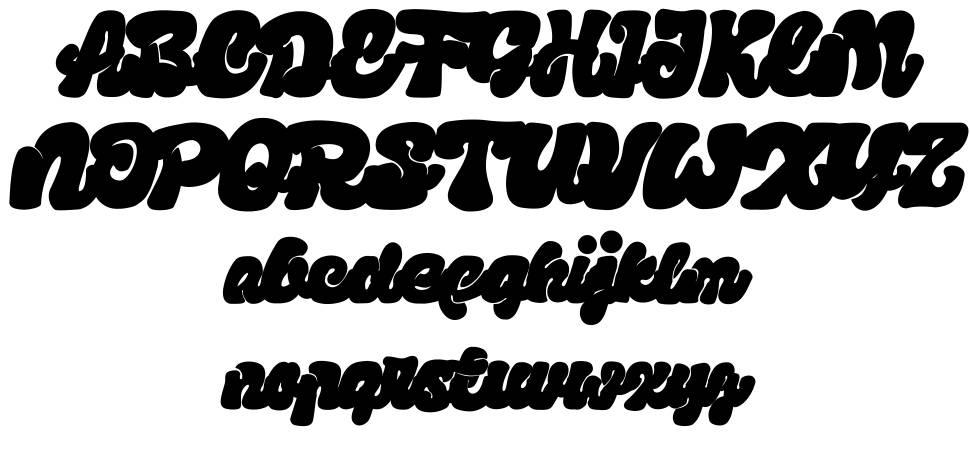 Sumringah font