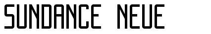 Sundance Neue font
