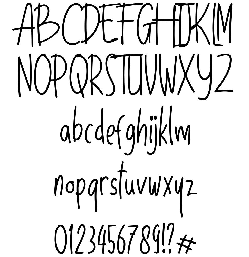 Sunday Holiday font