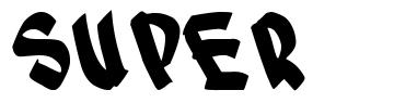 Super font