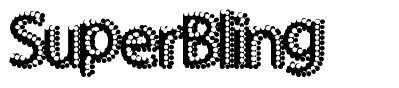 SuperBling font