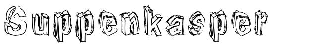 Suppenkasper шрифт