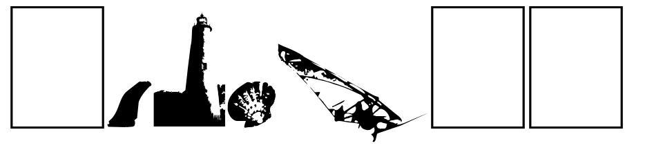 Surf Bat font