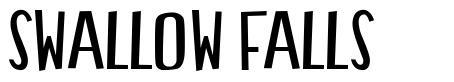 Swallow Falls font