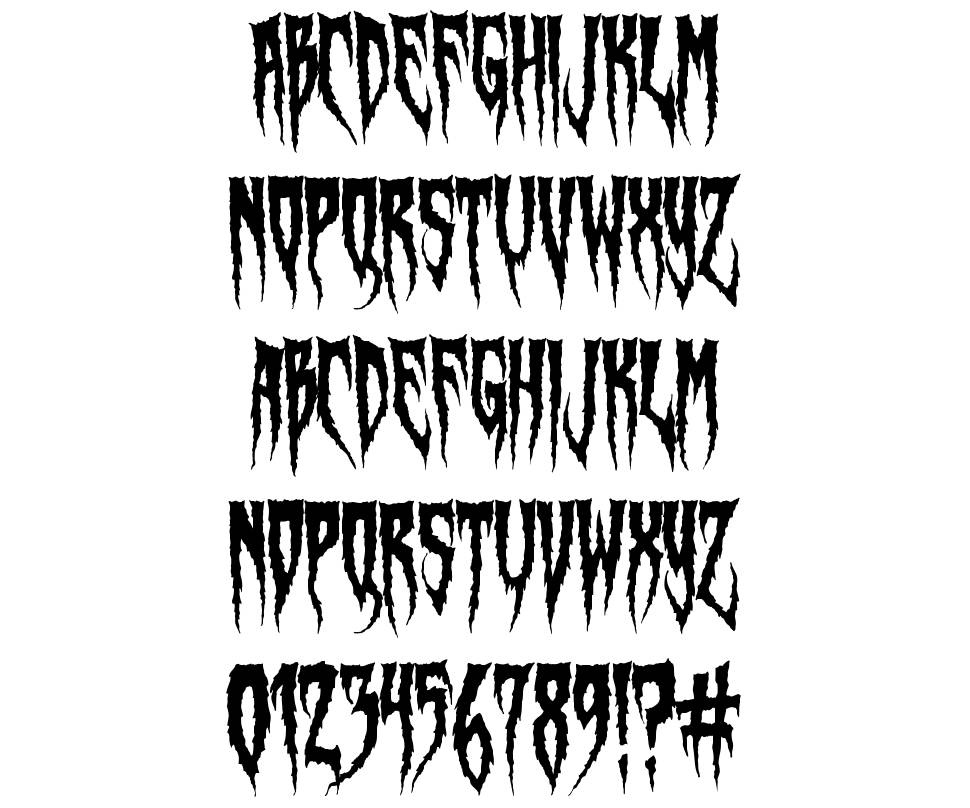 Swamp Witch font