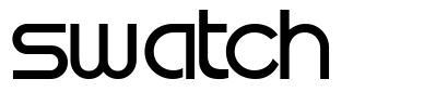 Swatch font