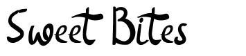Sweet Bites font