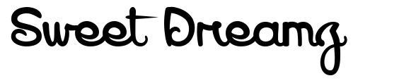Sweet Dreamz font