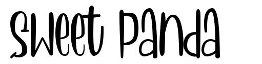 Sweet Panda font