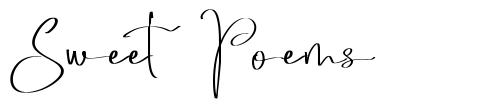 Sweet Poems