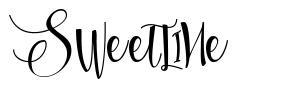 Sweetline font