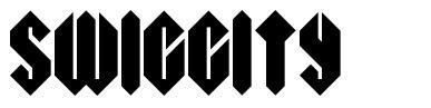 Swiggity font