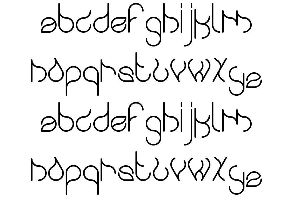 Swingingswan font