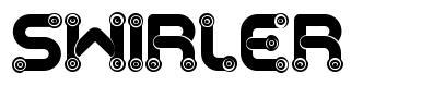 Swirler font