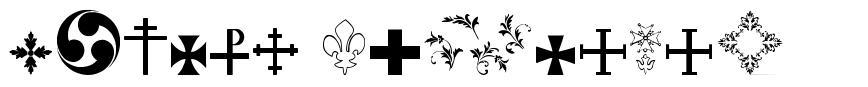 Symbol Crucifix font