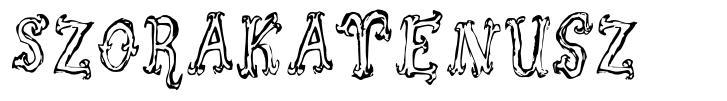 Szorakatenusz font