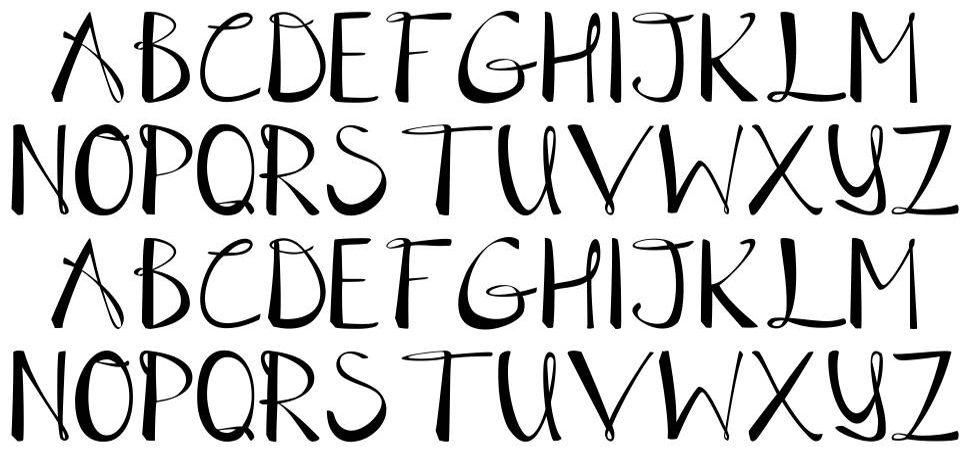 Table Air Lamp font