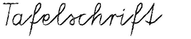 Tafelschrift font