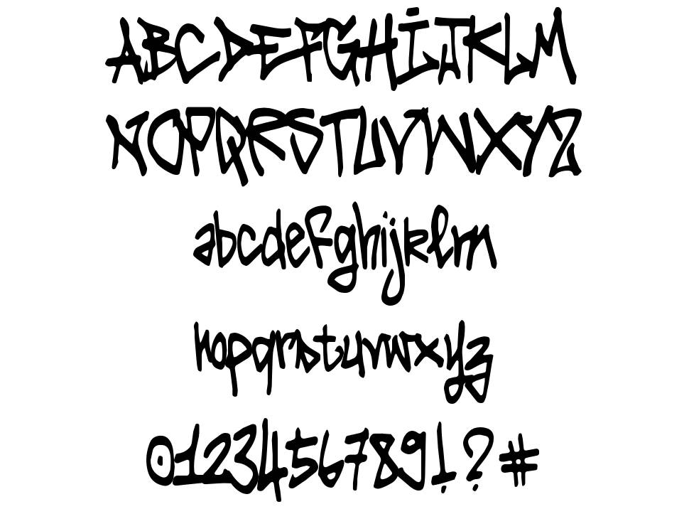 Tag It Yourself font