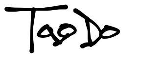 TagDo font