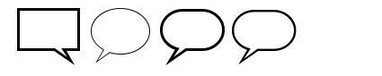 Talk font