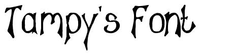 Tampy's Font