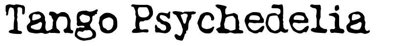 Tango Psychedelia font