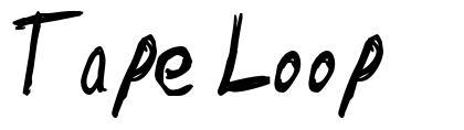 Tape Loop шрифт